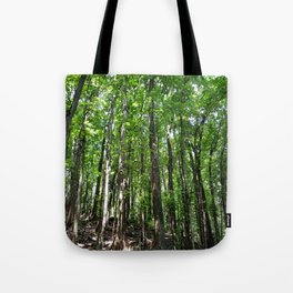 Man Made Forest Tote Bag