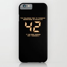 42: The Answer iPhone 6s Slim Case