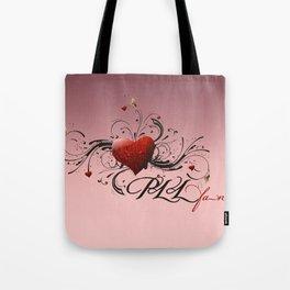 Pretty Little Liars fan heart Tote Bag
