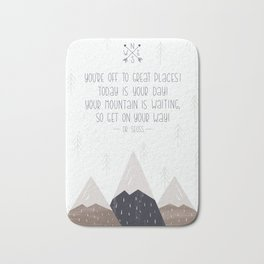 Your Mountain is Calling Bath Mat