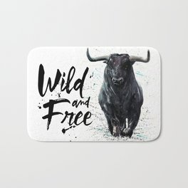 Buffalo wild & free Bath Mat