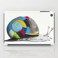 snail iPad Cases featuring Snail by Sary and Saff