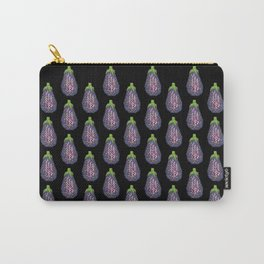 Eggplant (Aubergine) Carry-All Pouch