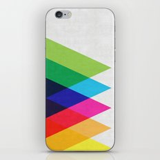 Abstract and minimalist pattern iPhone & iPod Skin