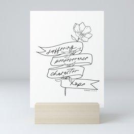 s-p-c-h Mini Art Print