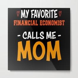 Financial economist Metal Print