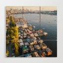 Houseboats on Lake Union by rudywillingham