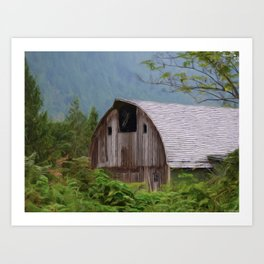Middle Of Nowhere - Country Art Art Print