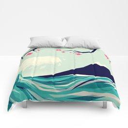 Falling in love 2 Comforters