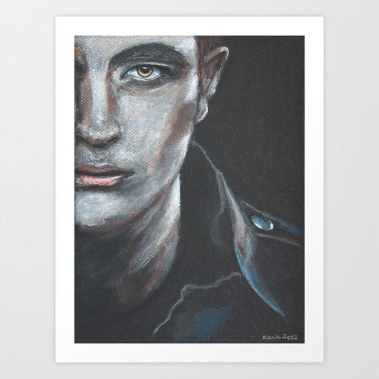 Robert Pattinson as Edward Cullen Art Print