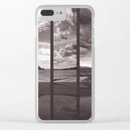 Sea Mount Sephia Clear iPhone Case