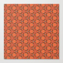 Autumn Leaves Close Up patterned (version 2) Canvas Print