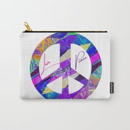 Love & Peace Carry-All Pouch