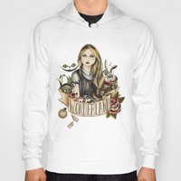 alice wonderland Hoodies featuring Wonderland by Juu Monteiro