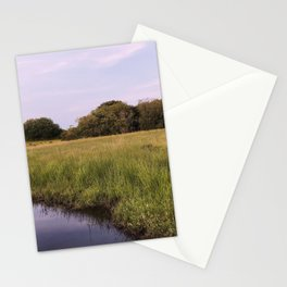 Purple river Stationery Cards