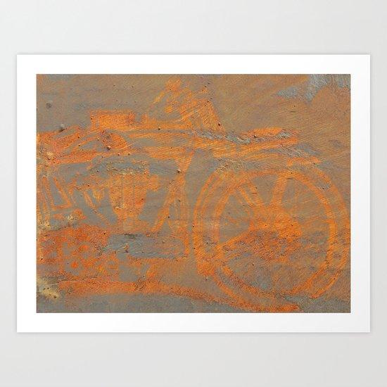 Oxidation Speed Art Print