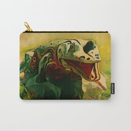 Crocodile sculpture Carry-All Pouch