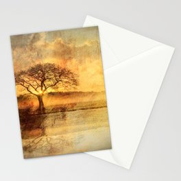 Sunset On The Savannah Stationery Cards
