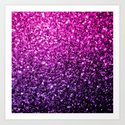 Purple Pink Ombre glitter sparkles by pldesign