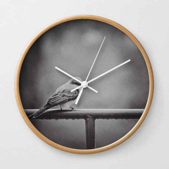 Endure Wall Clock