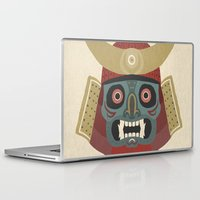 samurai Laptop & iPad Skins featuring Samurai by James White