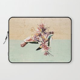 Turtle and bouquet Laptop Sleeve