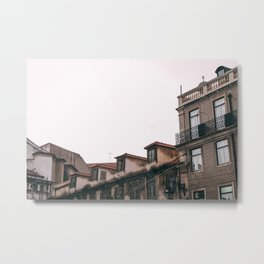 European rooftops Metal Print