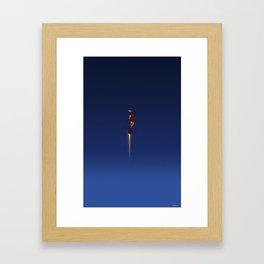 I Am, Iron Man Framed Art Print