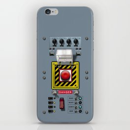 Launch console for nuclear missile iPhone Skin