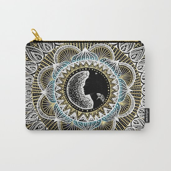 Woman Mandala Carry-All Pouch