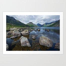 Wastwater English Lake District Art Print