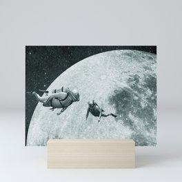 Deep Space Divers Mini Art Print