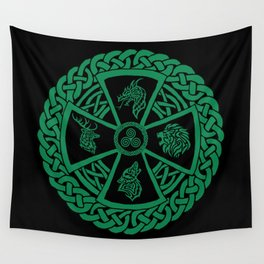 Celtic Nature 2 Wall Tapestry