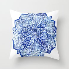knitwork iii Throw Pillow