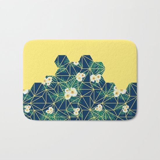 Tropical Tiles #society6 #decor #buyart Bath Mat