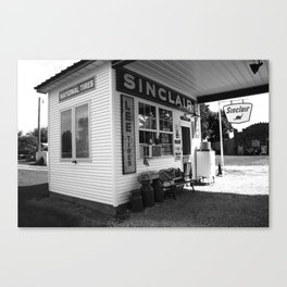 Route 66 Filling Station 2008 Canvas Print