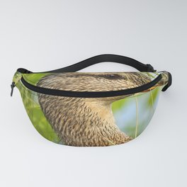 Wild Duck Portrait Nature Background #decor #society6 #buyart Fanny Pack