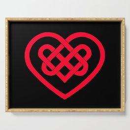 Celtic Heart (Dark) Serving Tray