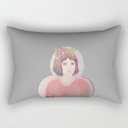 flower girl - floral Rectangular Pillow