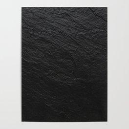 Black Slate Poster
