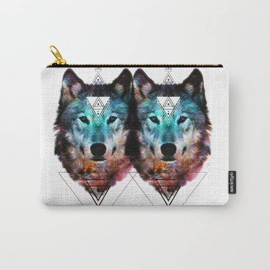 Sacred Wolf Carry-All Pouch