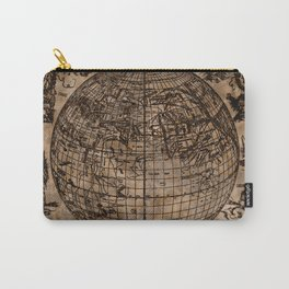 Vintage Old World Map Design Carry-All Pouch