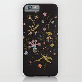 Flora of Planet Hinterland iPhone Case