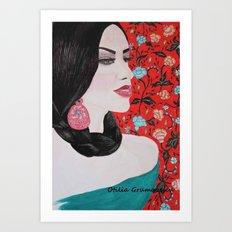 Spanish Dreaming Art Print