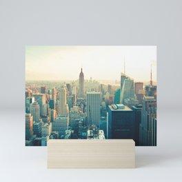 City Skyline Mini Art Print