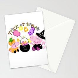 Halloween Peppa Stationery Cards