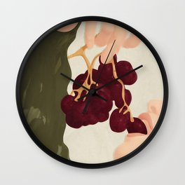 Hold me in the Present Wall Clock