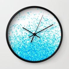 blue fantasy Wall Clock