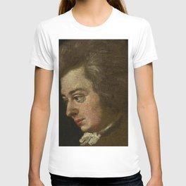 Wolfgang Amadeus Mozart (1756 -1791) by Joseph Lange T-shirt