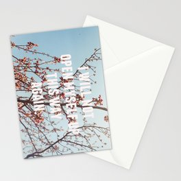 song for zula Stationery Cards